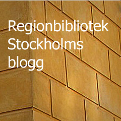 Regionbibliotek Stockholms blogg